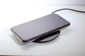 iPoneXSを置いた状態