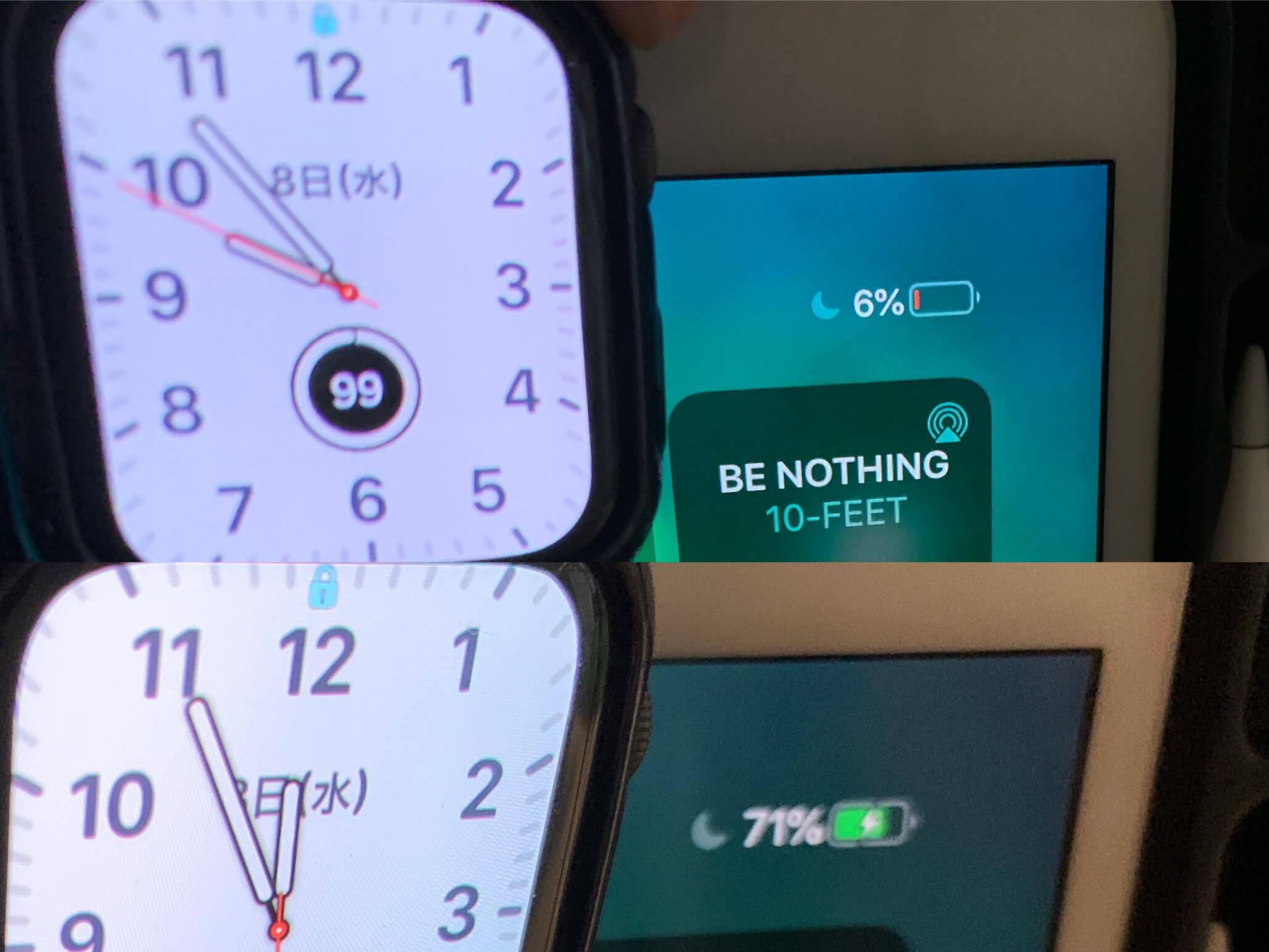 iPadの充電時間の画像