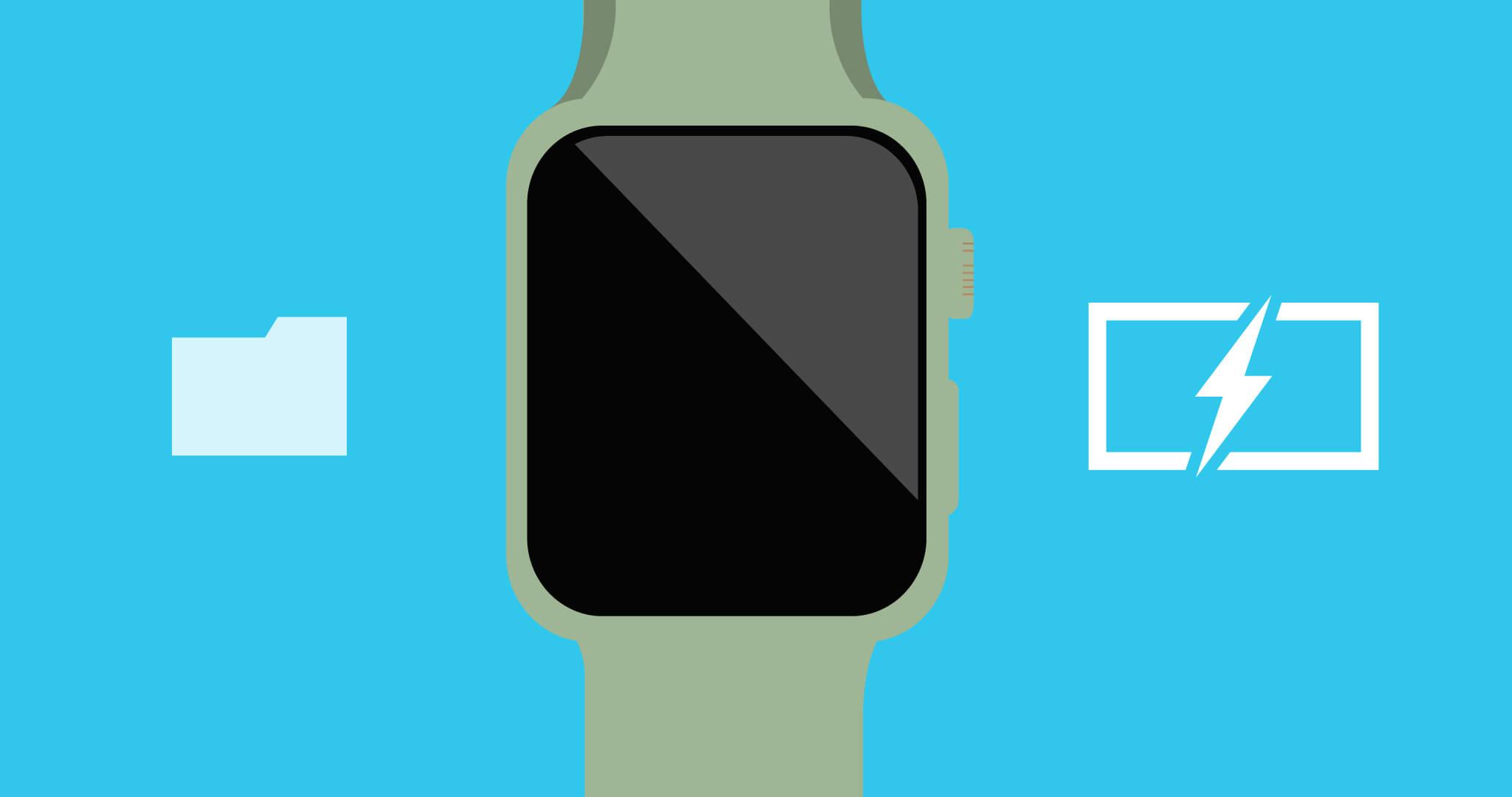 apple_watchのイラスト